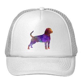 Rottweiler in watercolor trucker hat