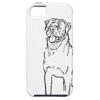 Rottweiler iPhone 5 Case