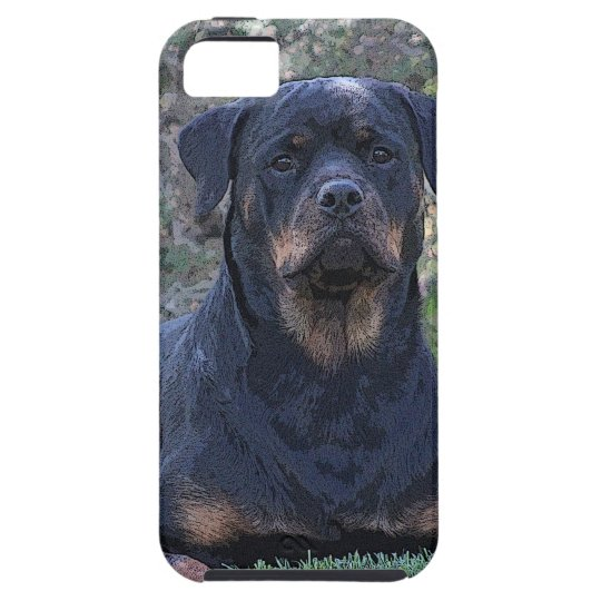 Rottweiler iPhone 5 Cover
