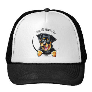 Rottweiler Its All About Me Trucker Hat