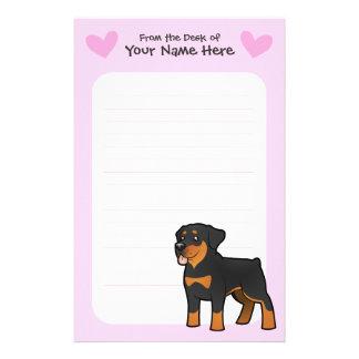 Rottweiler Love Stationery Design