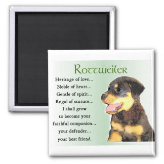 Rottweiler Lovers Gifts Magnet