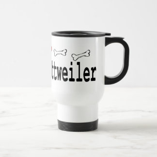 Rottweiler Lovers Gifts Travel Mug