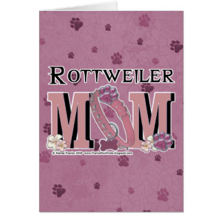 Rottweiler MOM Card