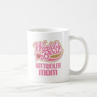 Rottweiler Mom Dog Breed Gift Coffee Mug