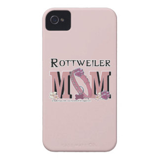 Rottweiler MOM iPhone 4 Cases