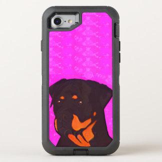 Rottweiler OtterBox Defender iPhone 7 Case