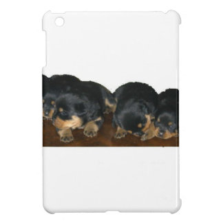 rottweiler Puppies Cover For The iPad Mini