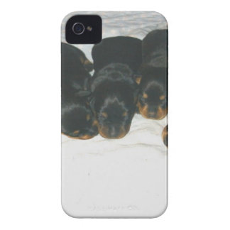 Rottweiler Puppies iPhone 4 Case