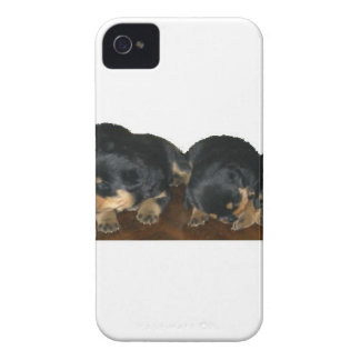 rottweiler Puppies iPhone 4 Cases