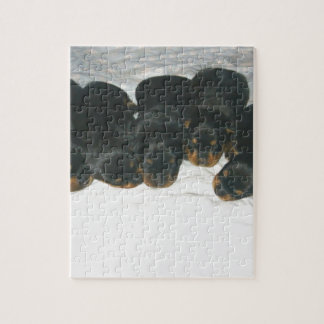 Rottweiler Puppies Jigsaw Puzzle