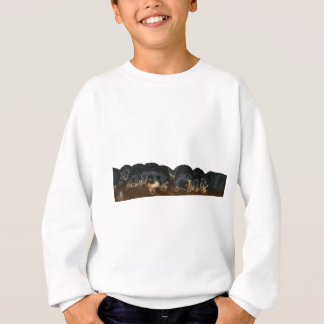 Rottweiler Puppies Sweatshirt