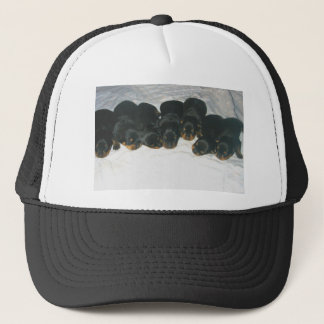 Rottweiler Puppies Trucker Hat