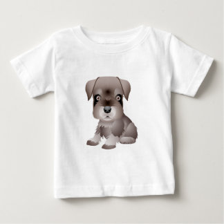 Rottweiler Puppy Baby Fine Jersey T-Shirt