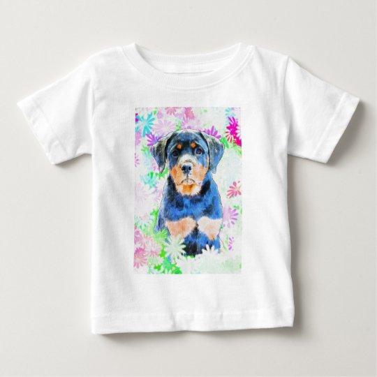 Rottweiler Puppy Baby T-Shirt