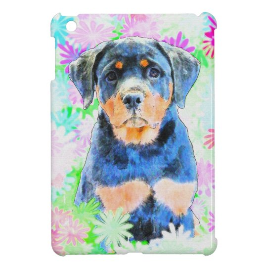 Rottweiler Puppy Case For The iPad Mini