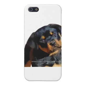 Rottweiler puppy iPhone 5 cover