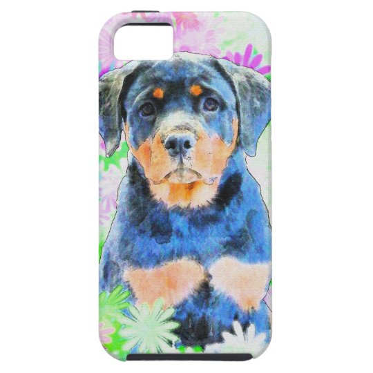 Rottweiler Puppy iPhone 5 Covers