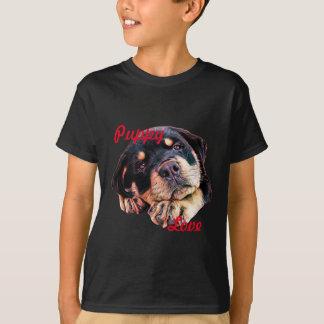 Rottweiler Puppy Love Rott Dog Canine German Breed T-Shirt