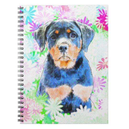 Rottweiler Puppy Notebooks