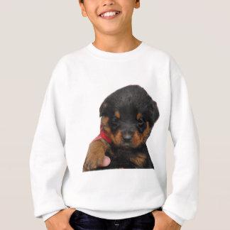 Rottweiler Puppy Red Sweatshirt