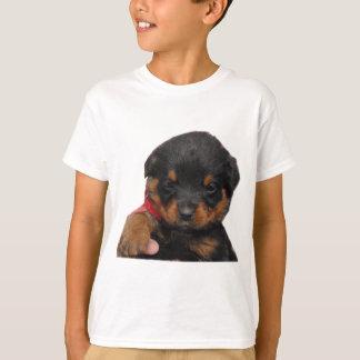 Rottweiler Puppy Red T-Shirt