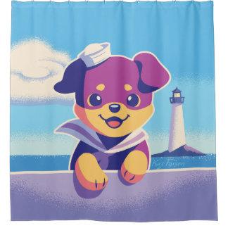 Rottweiler Puppy Sea Dog Sailor