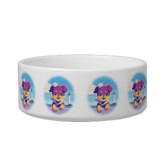 Rottweiler Puppy Sea Dog Sailor Bowl