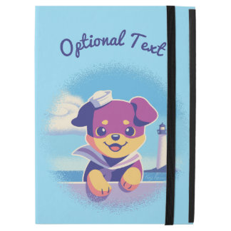 "Rottweiler Puppy Sea Dog Sailor iPad Pro 12.9"" Case"