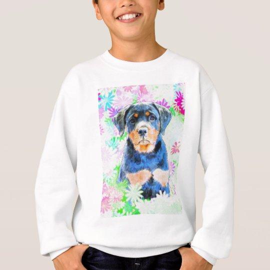 Rottweiler Puppy Sweatshirt