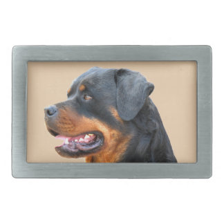Rottweiler Rectangular Belt Buckles