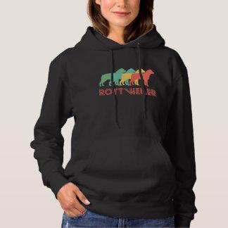 Rottweiler Retro Pop Art Hoodie