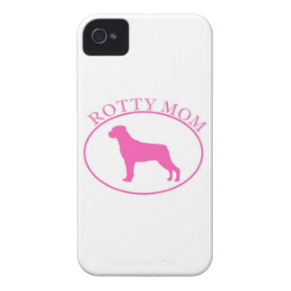 Rottweiler Rotty Mom iPhone 4/4S Case