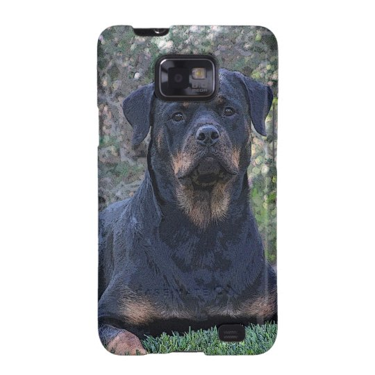 Rottweiler Samsung Galaxy S2 Cover