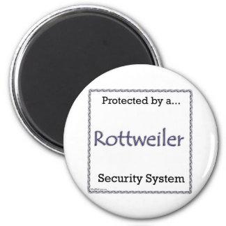 Rottweiler Security System - Magnet
