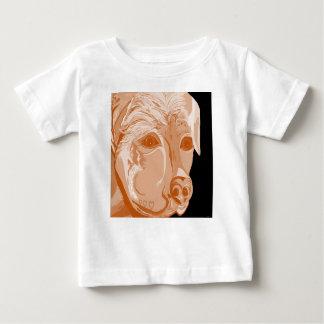 Rottweiler Sepia Tones Baby T-Shirt