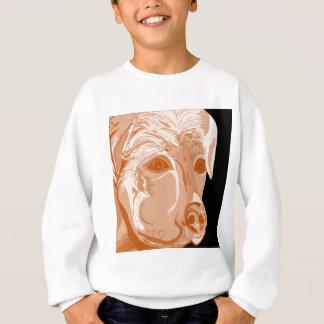 Rottweiler Sepia Tones Sweatshirt