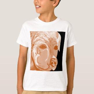 Rottweiler Sepia Tones T-Shirt