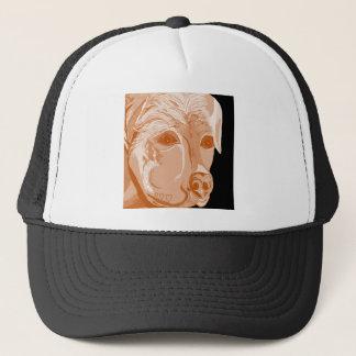 Rottweiler Sepia Tones Trucker Hat