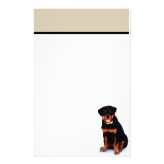Rottweiler stationary stationery design