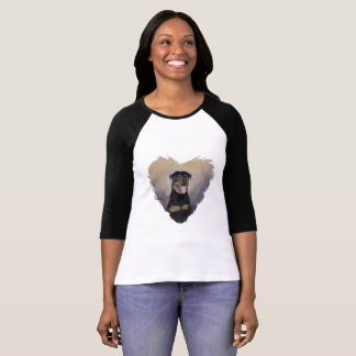 Rottweiler T Shirt, Impressionism, Colorful T-Shirt