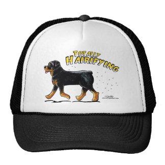 Rottweiler Totally Hairifying Trucker Hat