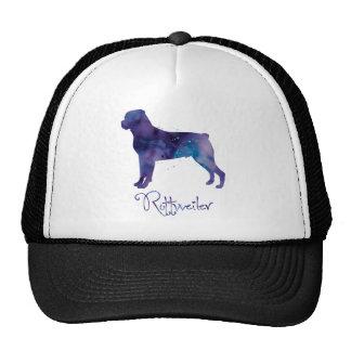 Rottweiler Watercolor Trucker Hat