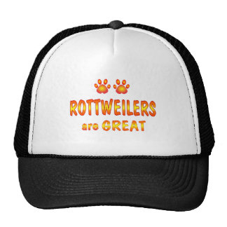 Rottweilers are Great Trucker Hat