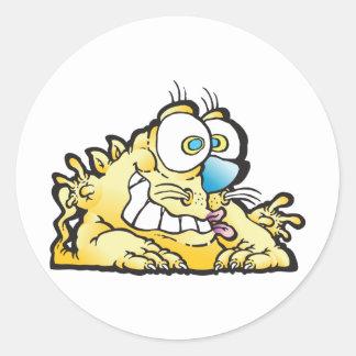 rotunda_cat round sticker