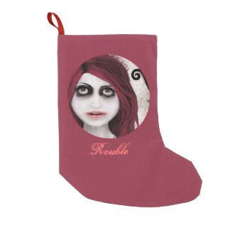 ROUBLE SMALL CHRISTMAS STOCKING