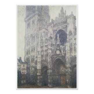 Rouen Cathedral, 1894 Poster