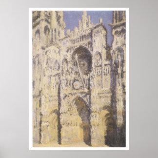 Rouen Cathedral Claude Monet Print