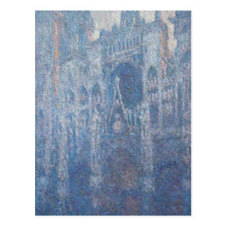 Rouen Cathedral, Clear Day by Claude Monet Postcard