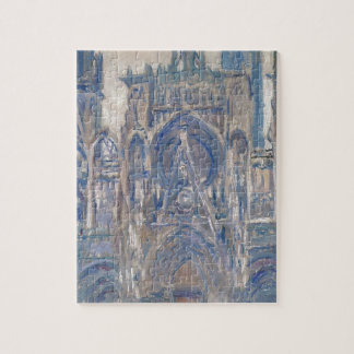 Rouen Cathedral, Study of the Portal by Claude Jigsaw Puzzle